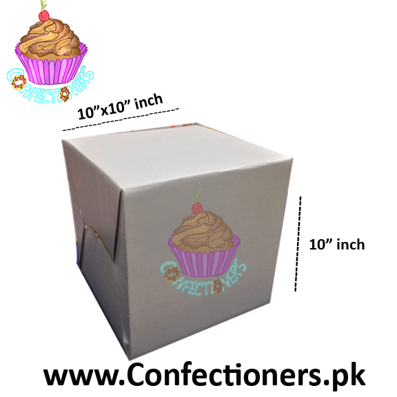 "10"" Height Jumbo Cake Box"