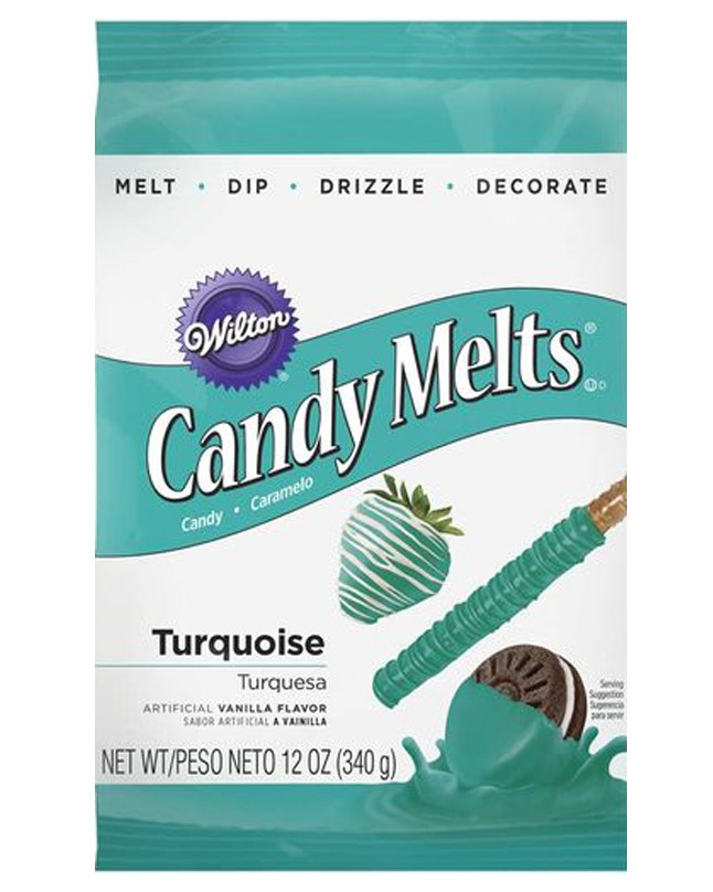 WT19119424 - Wilton Turquoise Candy Melts Candy
