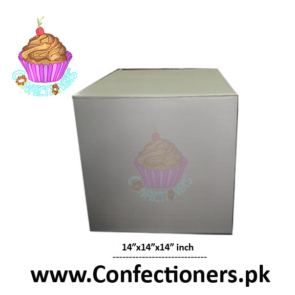 "14"" height Cake Box"