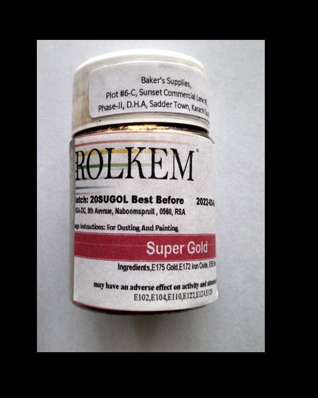 Rolkem Supers Super Gold 20gm Tub