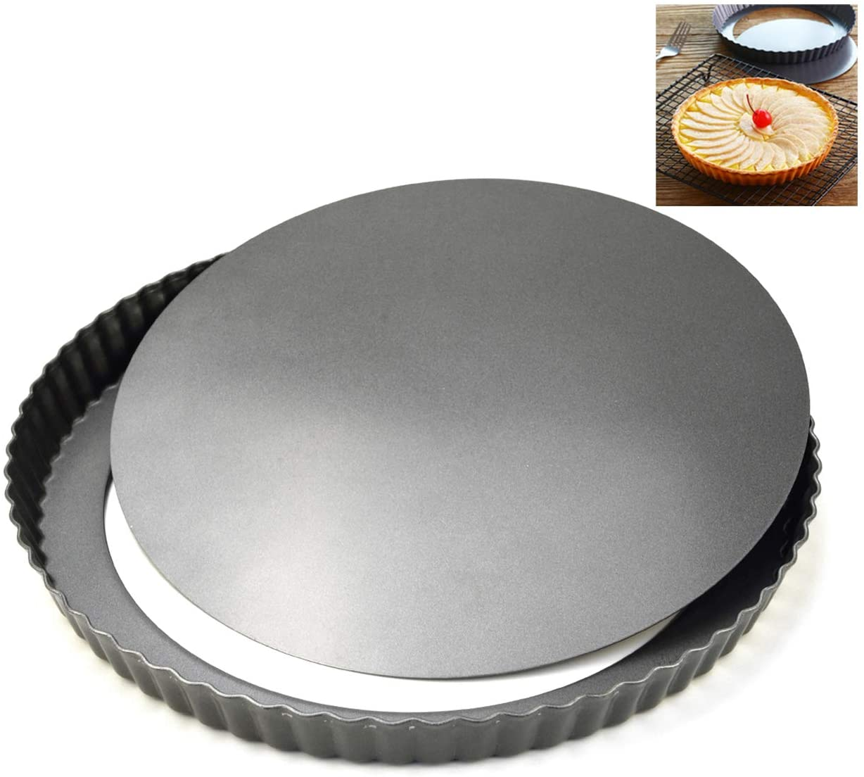 NST62 NS Round Tart Pan 7.5 x 1 (Loose bottom)