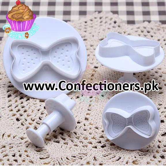 Bow Plunger Cutter Set of 4 Pieces