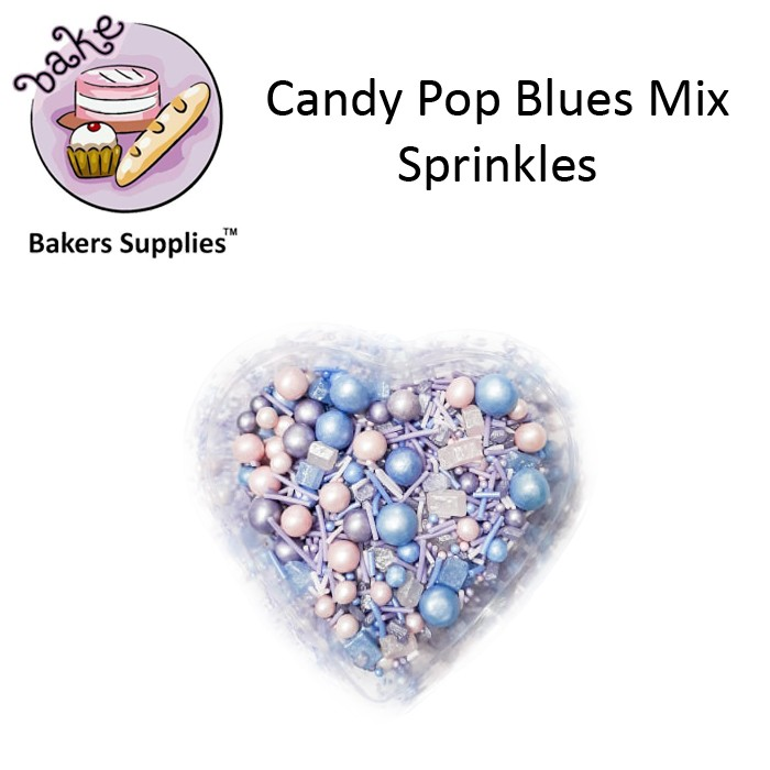 CDP04 - Candy Pop Blues Mix Sprinkles