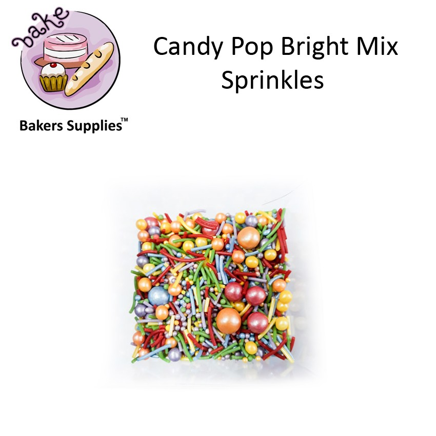 CDP09 - Candy Pop Bright Mix Sprinkles