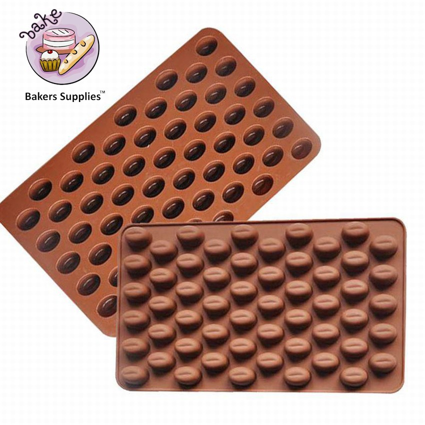 SM250 - Silicon Chocolate Mold Coffee Beans