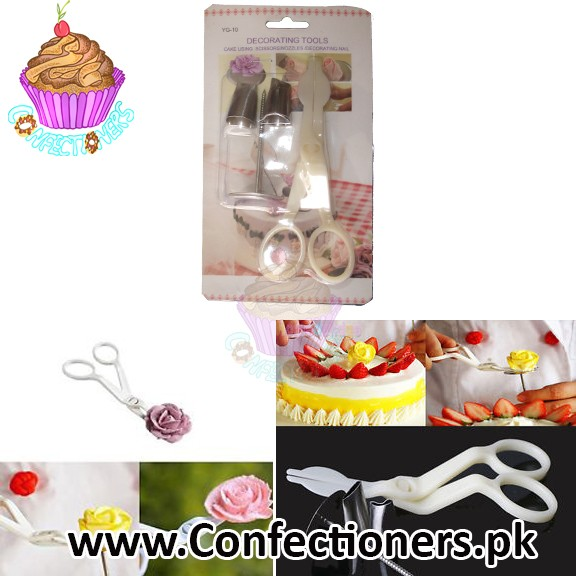 YG-10 Flower Nail with Scissor Lifter Nozzle Set