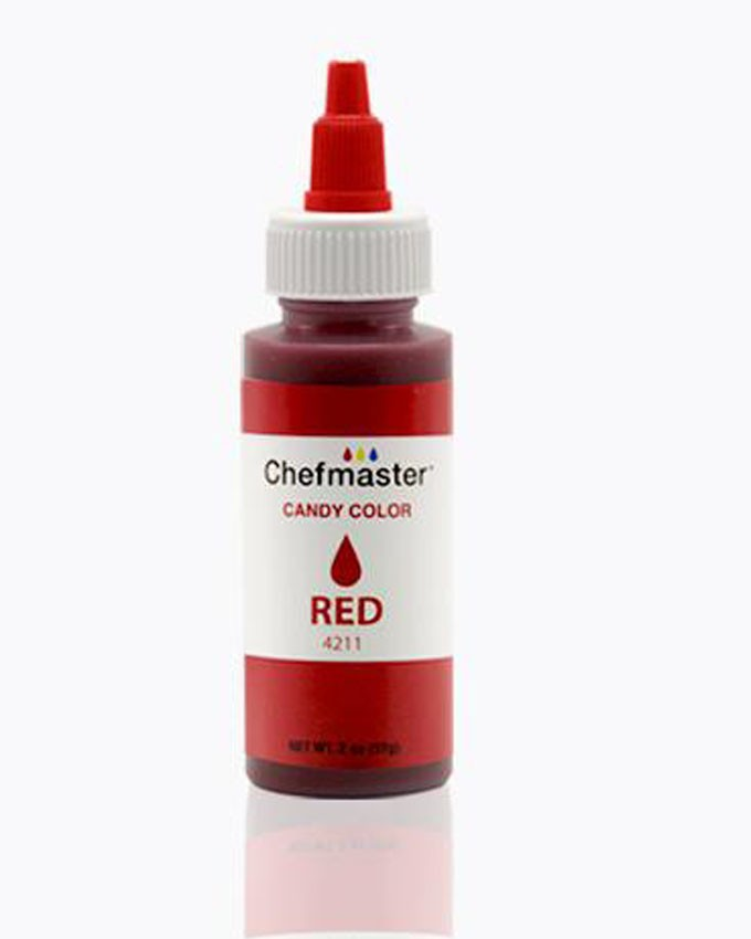 CHEFMASTER RED LIQUID CANDY COLOR 2OZ