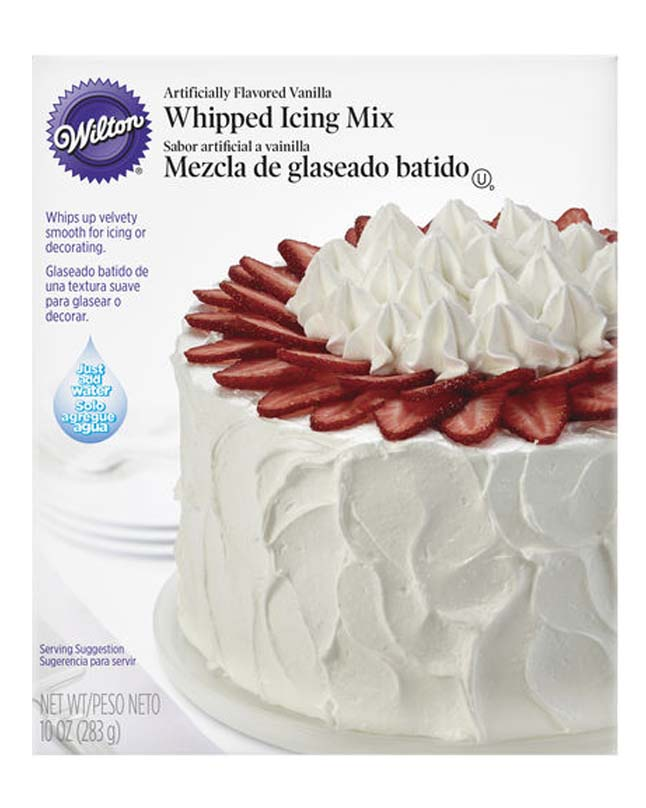 WILTON WHIPPED ICING VANILLA MIX