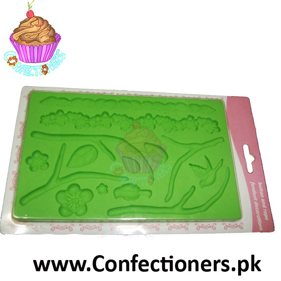 Nature Fondant and Gum paste Mold