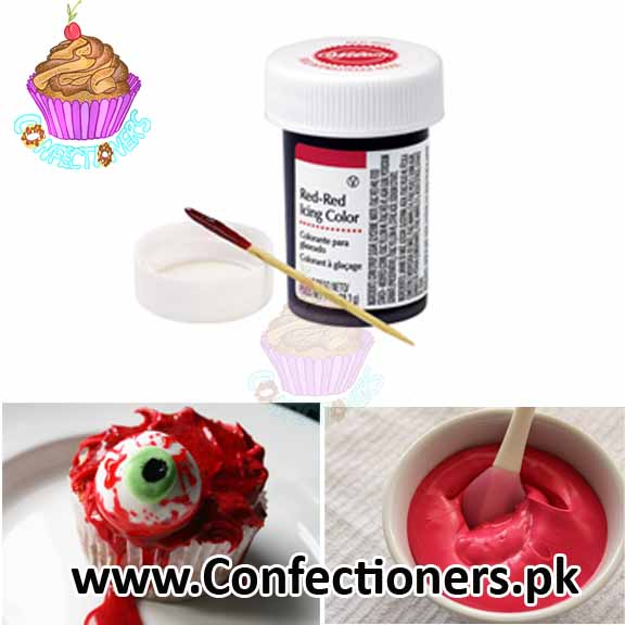 DXB Wilton Red Icing Gel Food Color 1oz