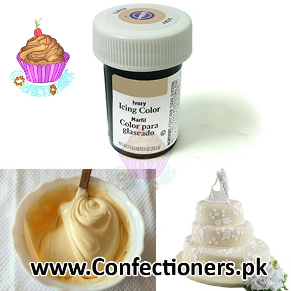 WT610306 - WILTON IVORY ICING COLOR