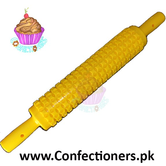 Yellow Impression Roller Square