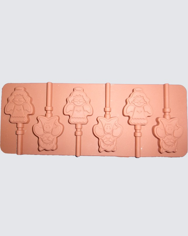 Silicon Chocolate Baby Angel Lolly Pop Mold