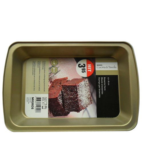 "NST69 - NS Biscuit & Brownie Pan Size 6.2""×9.7"""