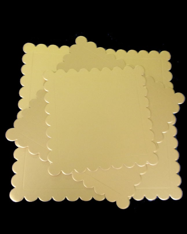 Elegant Design Square Cake Board Pack of 3 Piece