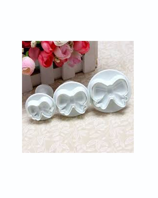 PC7349 - Bow Plunger Cutter Set of 3pcs