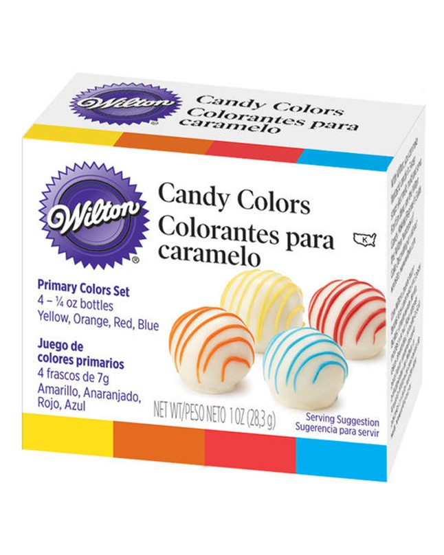 WT1913299 - WILTON PRIMARY CANDY COLORS SET