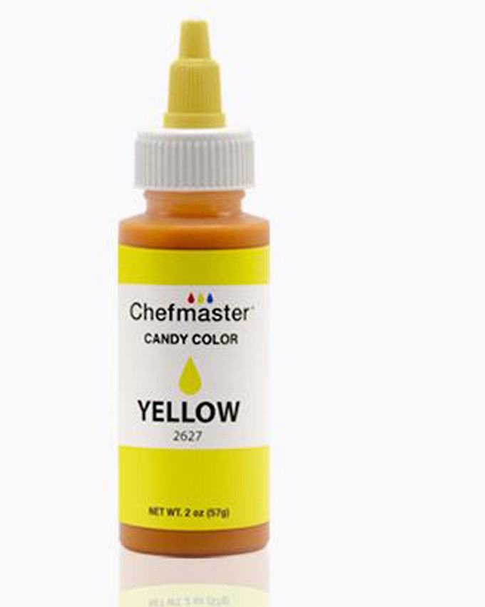 CHEFMASTER YELLOW LIQUID CANDY COLOR 2OZ