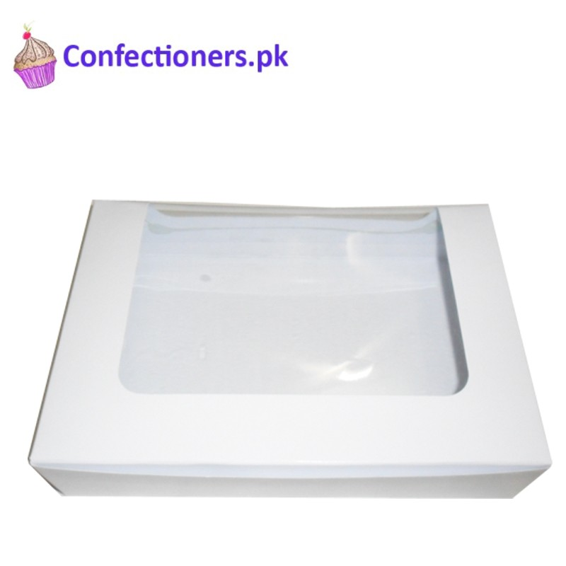 CBNB0327 - White Cookies Brownies Cakesicles Donuts Box