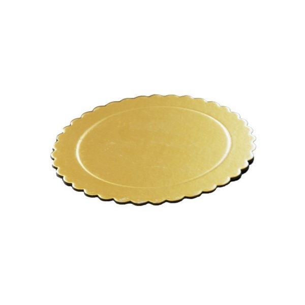 CBNB0324 - Better Cake Boards 2mm 25cm 10 inch Golden 6 Pieces