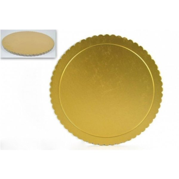 CBNB0323 - Better Cake Board 2mm 20cm 8 inch Golden 6 Pieces