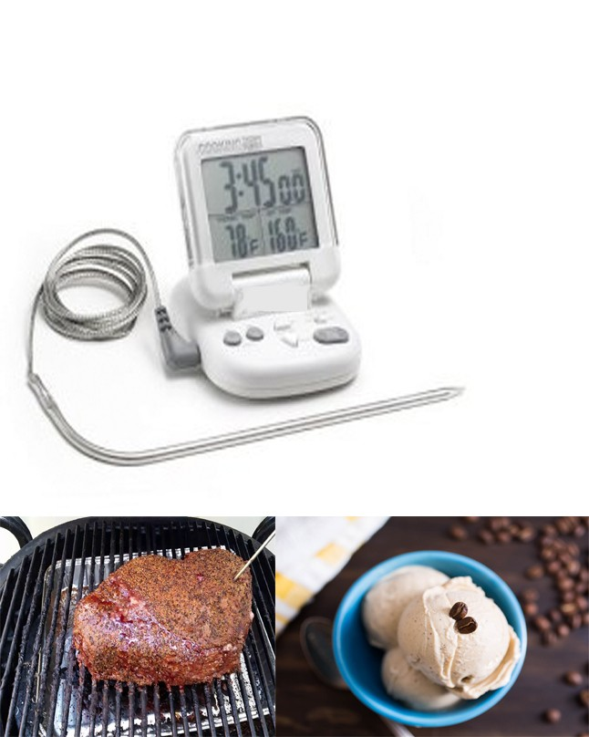 BT0036 TFA Digitales Grill Bratenthermometer For Meat etc