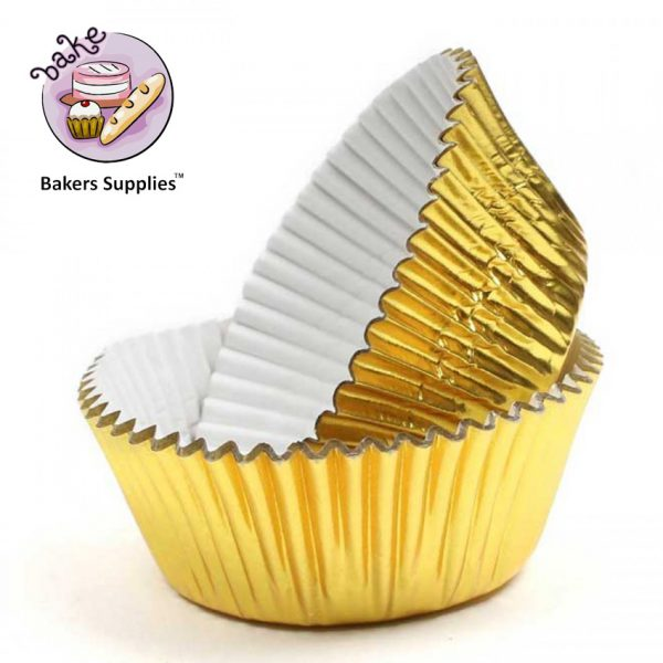 DB12 - 11cm Golden Cupcake Liner 1000 Pieces Pack