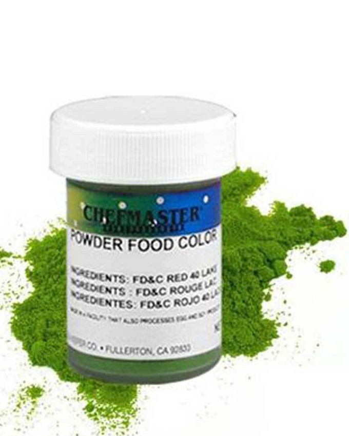 CHEFMASTER GREEN DRY POWDER CANDY COLOR 3GMS
