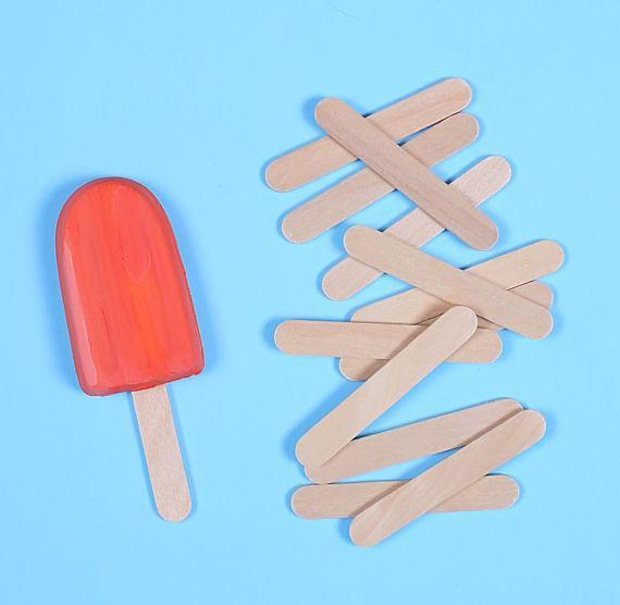 CPS10- Cakesicles Popsicles Sticks Wooden 11cm 50 pieces pack