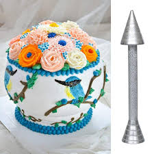 IN0058 - Flower Nail Cake Decorating Tools for Icing Flowers Making