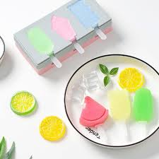 SM317 - Silicon Fruits Cakesicles Popsicles Mold 3 Cavity