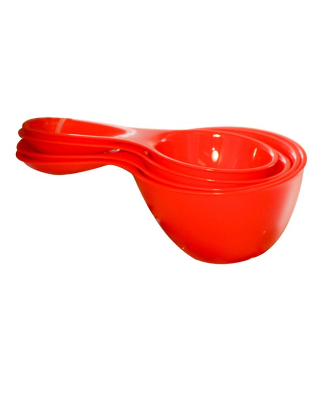 BT0017 - Red Measuring Cups & Spoons Set