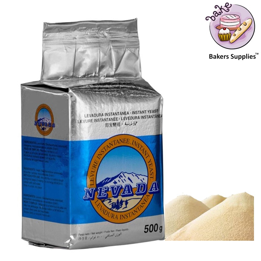 FI1014 - Nevada Blue Label Instant Yeast 500 Gram