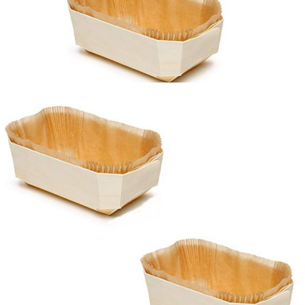 PANIBOIS WOODEN BREAD MOLD (PACK OF THREE PCS)