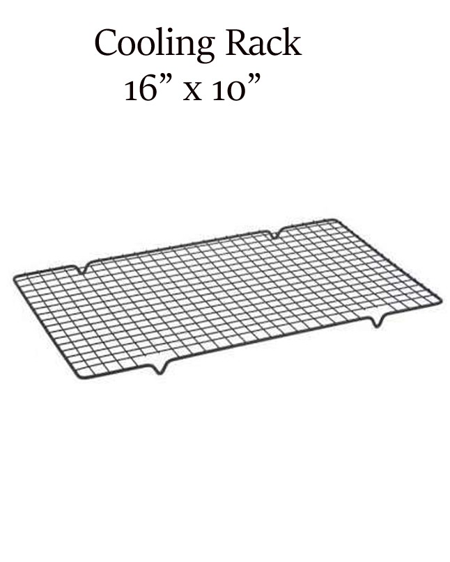 """WR0001 - Wire Rack / Cooling Rack Non stick coated 16"""" x 10"""""""