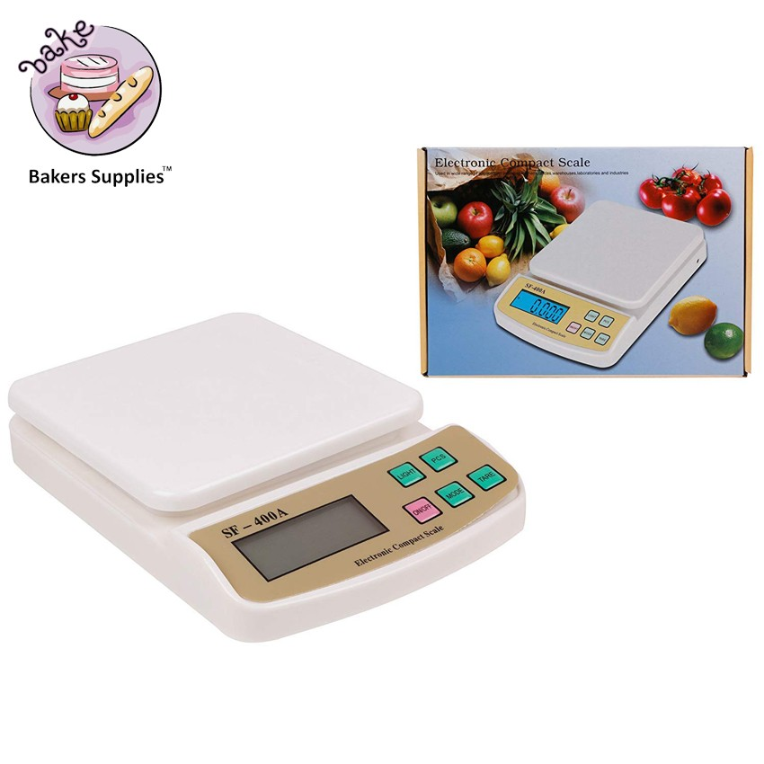 SF-400A ELECTRONIC KITCHEN WEIGHING SCALE