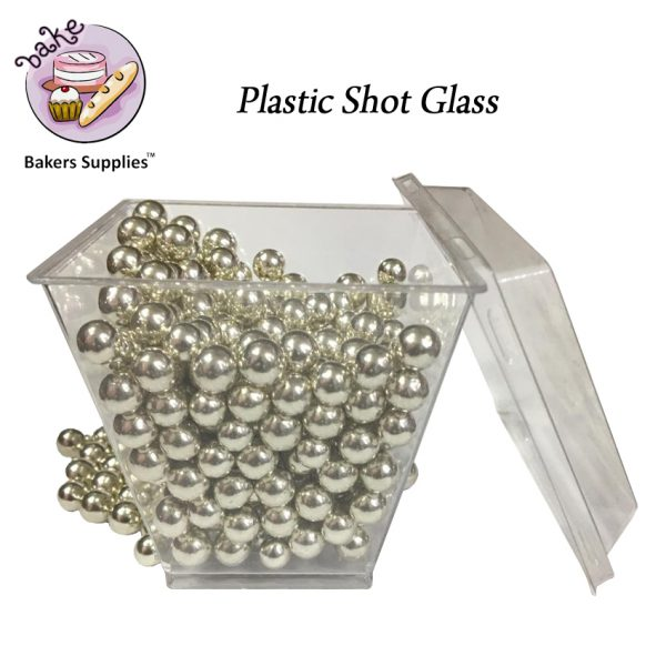 SG5120 - 200CL CL40 Plastic Shot Glass 25 Pieces Pack