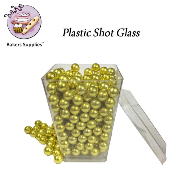SG5122 - CH24 Plastic Shot Glass 25 Pieces Pack