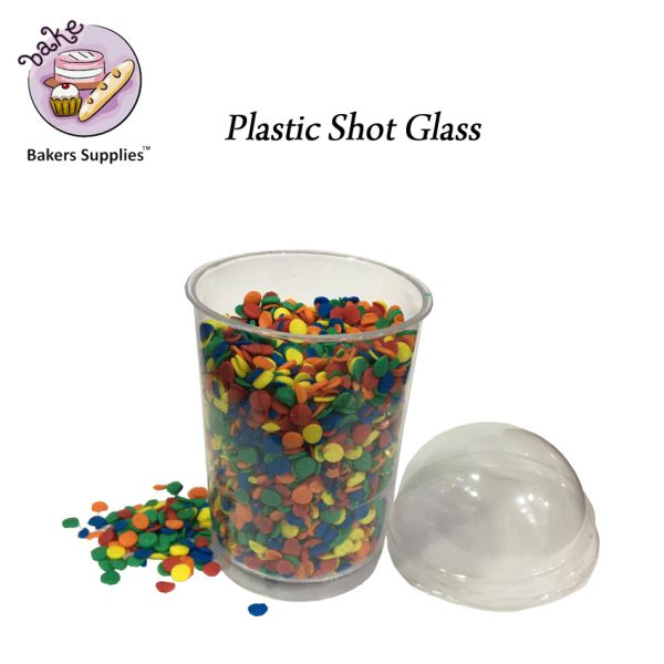 SG5123 - CH20 Plastic Shot Glass 10 Pieces Pack