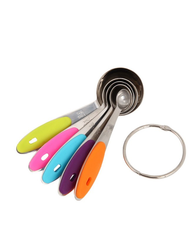 BT0109 - Stainless Steel Measuring Spoon set of 5 Piece