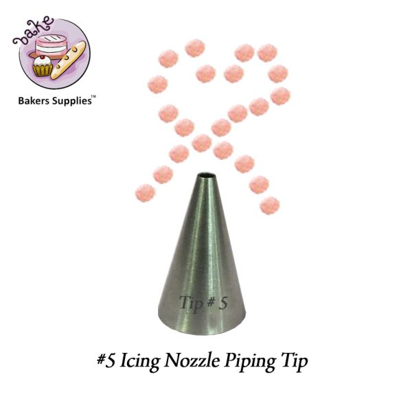 IN0049 - 5 Icing Nozzle Piping Tip