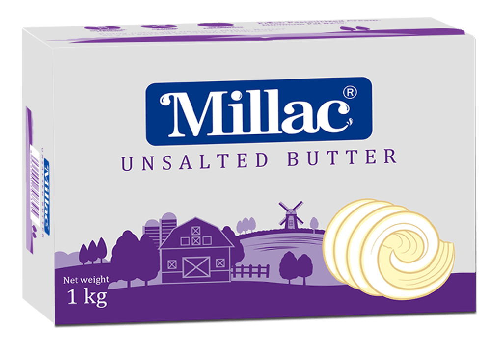 FI013 - Millac Unsalted Butter 1kg (only for karachi)