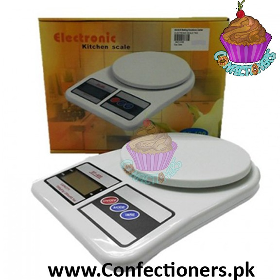 Compact Electronic kitchen Weigh Scale Four Modes